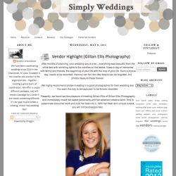 Simply Weddings Blog
